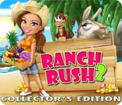 Sara is back in a new exotic adventure! Design and decorate your ranch and corral exotic animals in this Time Management game.