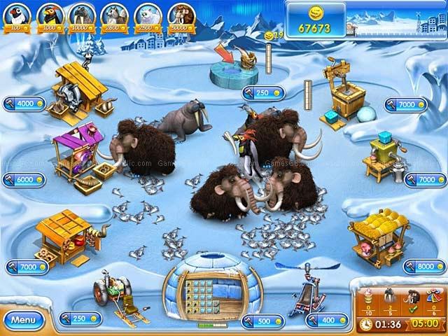 Игры для PC Alawar Enterteiment Веселая ферма 3. Ледниковый период (Jewel)